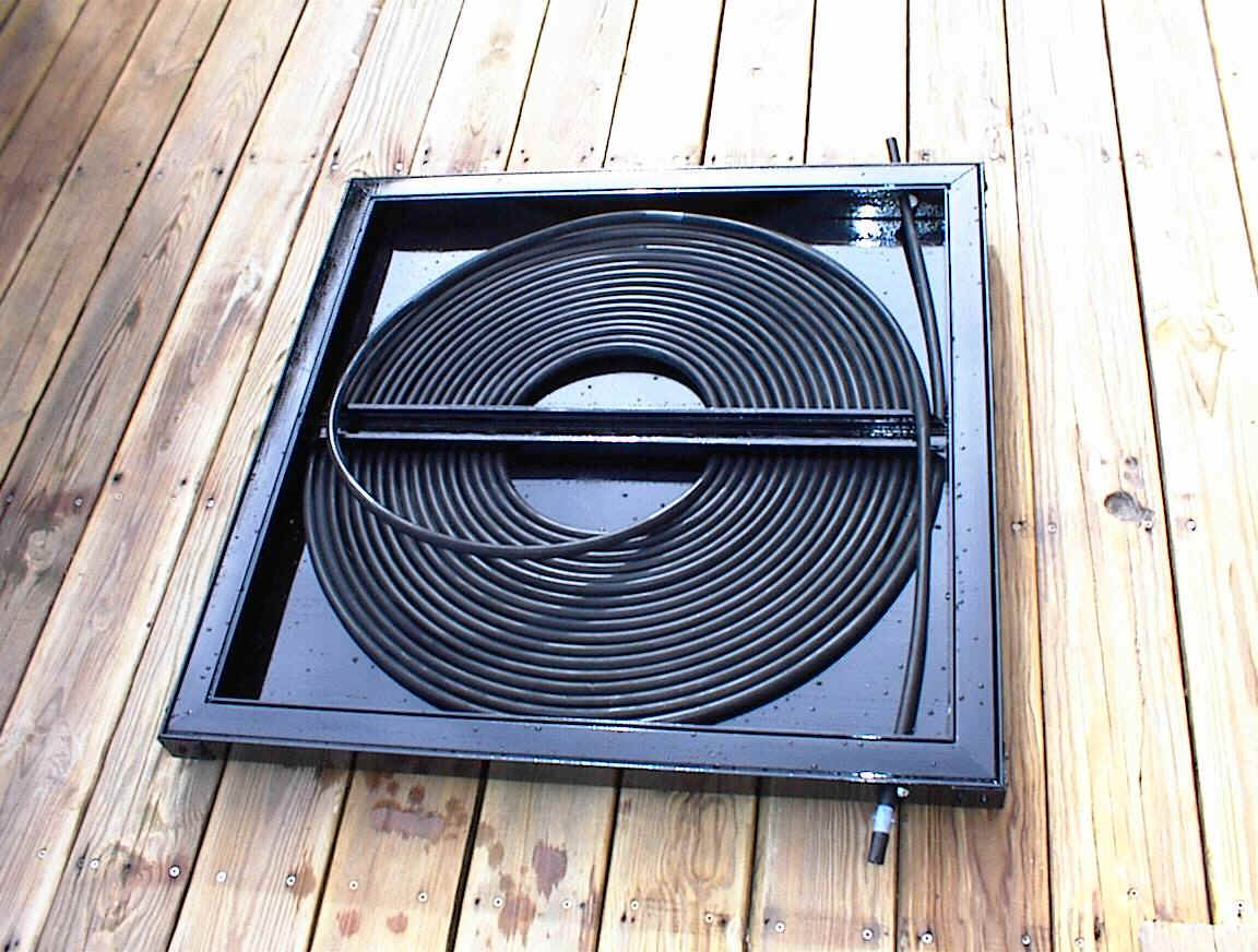 Homemade Solar Heater: DIY Solar Pool Heater Black Hose